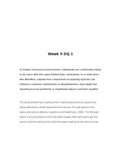 """Week 4 DQ 1 Many real-world decision problems consist of a sequence of dependent decisions. Develop a scenario that has a series/sequence of activities applicable to a """"Decision Tree"""" type analysis. Explain why the scenario you… (More) Leadership Traits, Performance Measurement, Decision Tree, Senior Project, Week 5, Explain Why, Encouragement, Organizations, Organizers"""