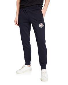 59957baf3f46 MONCLER MEN S TAPERED-LEG SWEATPANTS.  moncler  cloth