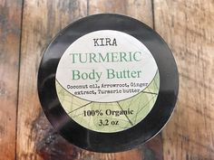 Excited to share this item from my #etsy shop: Turmeric Whipped body butter | Turmeric + Ginger | Helps with pigmentation | Dark spots remover | Skin Brightening | Amazing moisturizer