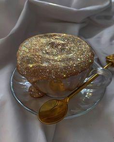 "Yana Potter artist ✨ on Instagram: ""Golden cappuccino☕️✨"""