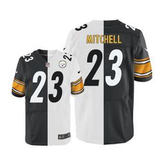 Troy Polamalu Men s Elite Team Road Two Tone Jersey  Nike NFL Pittsburgh  Steelers Autographed fdfce4e7c