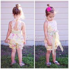 Girls Lily Lace Dress or Romper by BellaPhiaBoutique on Etsy Easter dress, Easter Outfit, summer clothes, stylish kids, boutique, romper