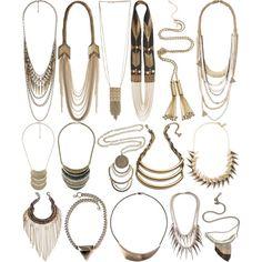 boho statement necklaces