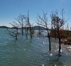 Plastiras lake, Greece