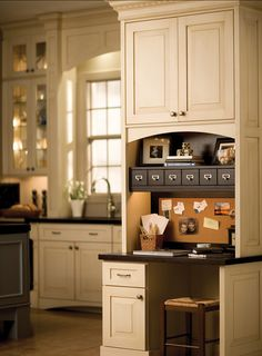 kitchen desk ideas - Google Search