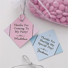 Precious Prayer© Personalized Party Favor Tag/1 set of 24 for $16.95