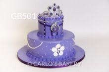 Bolo de aniversário da menina da padaria Carlo, GB501
