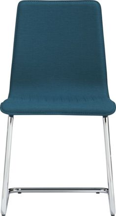 Pros: Bauhaus design principles! steamlined  industrial and color ;  Cons: material looks a little cheap due to lack of detail    pony peacock chair    CB2