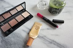 My three December beauty favorites were the Topshop Smoky Eye Palette in Enigma, the It's Skin Prestige Creme D'Escargot BB Cream, and the NARS Satin Lip Pencil in Yu.