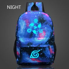Epoch Fashion 2016 Naruto Luminous Rucksacks Japan Anime Printing Backpacks Luminous Backpack For Boy/Girl Fans Canvas Backpack ** Recherchez l'offre en cliquant simplement sur l'image