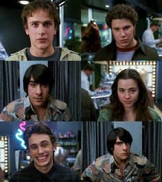 Freaks and Geeks! oh daniel desario (james franco)! Freeks And Geeks, Brown Eyes, Brown Hair, Great Smiles, Hooray For Hollywood, Tv Show Quotes, Old Love, Tv Episodes, Film Books