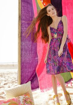 Devendra Dress shown in the Trina Turk Summer 2012 Look Book