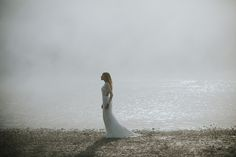 Nora Sarman / Pinewood Weddings / Wilderness / Dress Beach Dress Beach, Beach Dresses, Wedding Dresses, Bohemian Bride, Wilderness, One Shoulder Wedding Dress, Mermaid, Pure Products, Weddings