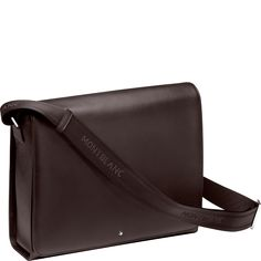 Meisterstück Soft Grain brown #Messenger Bag - mont blanc
