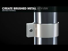 Create Brushed Metal with Vray in 3DS Max - YouTube