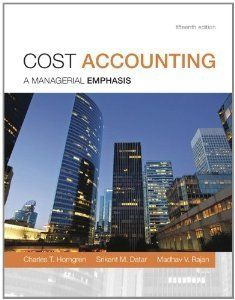 cost accounting a managerial emphasis 14th edition solutions manual download