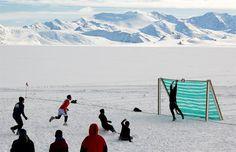 Fútbol en la Antártida: el partido más austral del mundo | Radio Panamericana