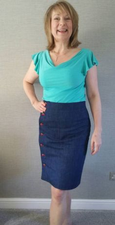 Amanda's Arielle skirt - sewing pattern by Tilly and the Buttons
