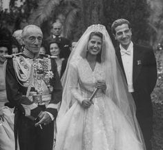 """Cayetana, the only child of Don Jacobo Fitz-James Stuart y Falcó, 17th Duke of Alba, married on October 12, 1947 with Don Luis Martinez de Irujo y Artacoz. The wedding was considered to be the last great feudal wedding in Spain and attracted attention of the international media.The french newspaper Libération called it """"the most expensive wedding of the world"""".Rumour has it were spent 20 million at that time."""