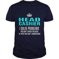 HEAD-CASHIER - #custom hoodies #cool hoodies for men. I WANT THIS => https://www.sunfrog.com/LifeStyle/HEAD-CASHIER-101325643-Navy-Blue-Guys.html?60505