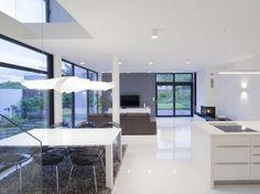 RD Černošice - obytný prostor Bar, Table, Furniture, Home Decor, Decoration Home, Room Decor, Tables, Home Furnishings, Home Interior Design