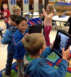 iPad classroom blog