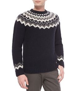 Icelandic Sweaters, Menswear, Design Inspiration, Product Description, Pullover, Knitting, Pattern, How To Wear, Fashion
