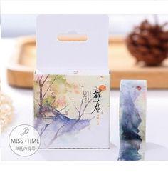 Japanese Style Ink Washi Tape