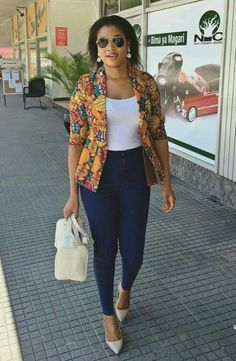 African Attire, African Dress, African Outfits, African Clothes, Business Casual Outfits For Women, Casual Work Outfits, African Fashion Ankara, African Print Fashion, Fashion Wear