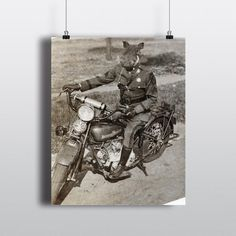 Motorcycle Gifts Harley Davidson Vintage Indian Bike Biker | Etsy Cool Motorcycles, Indian Motorcycles, Indian Motors, Motorcycle Gifts, Funny Gifts For Dad, Easy Rider, Harley Davidson, Biker, Art Prints