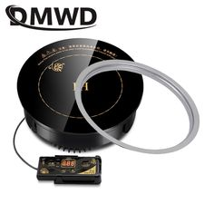 DMWD Round Electric Magnetic Induction Cooker wire control Embedded mini hob Burner Commercial waterproof hot pot stove cooktop Cook Top Stove, Electric Stove, Cooking Appliances, Hot Pot, Cooker, Magnets, Commercial, Wire, Camping
