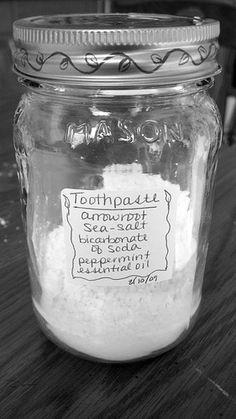 Easy & cheap homemade Tooth Powder.