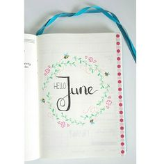 The intro page of a new month! The next days I will post my June setup. This…