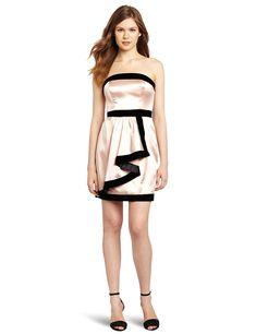 Miss Sixty Women's Margot Dress, Petal, 10