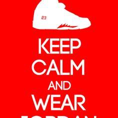 abacaf232120 Keep calm and wear Air Jordan V Art Print by Yellow Dust