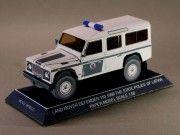Latvia Police Land Rover Defender 110 Free Vehicle Paper Model Download