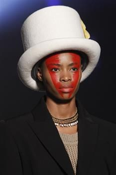 Hat (9a) by Prudence Millinery for Vivienne Westwood Gold Label Autumn Winter 2014 2015 http://viviennewestwood.prudencemillinery.com