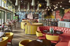 Havwoods products used in Las Iguanas, Bristol.