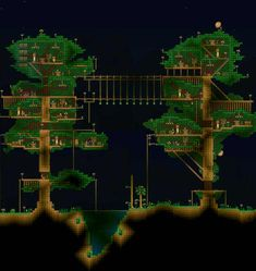 Minecraft I built a tree house some time ago and forgot to post house Plans Minecraft, Minecraft Redstone, Cute Minecraft Houses, Minecraft Houses Blueprints, Minecraft House Designs, Minecraft Tutorial, Minecraft Creations, Minecraft Crafts, Minecraft Buildings