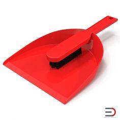 Dustpan Set 3d models  #dustpan #3d #model http://www.turbosquid.com/3d-models/dustpan-brush-set-3d/963624?referral=3d_molier-International