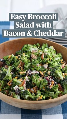Slaw Recipes, Yummy Chicken Recipes, Yum Yum Chicken, Healthy Salad Recipes, Veggie Dishes, Vegetable Recipes, Side Dishes, Easy Broccoli Salad, Dairy Free Keto Recipes