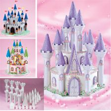 Perfect idea for a disney princess birthday party from Wilton