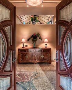 A gracious entryway.