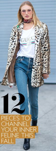 Take a page from our September issue and add some leopard print to your wardrobe.