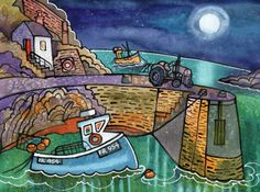 Porthgain by Dorian Spencer Davies. Available @ http://www.made-in-wales.co.uk