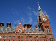 St. Pancras Station, Eurostar end stop from Paris via the Chunnel