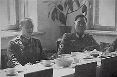 Japanese Official in Wehrmacht uniform