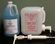 Tanning Bed Cleaner Disinfectant Australian Gold 1 gallon with 2.5 GAL Mix Tank #AustralianGold