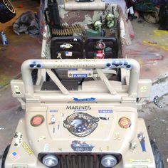 USMC power wheels