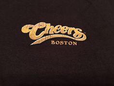 Men's CHEERS BOSTON T-Shirt. 2-sided Graphics. Dark Brown.  Size 3 X-Large #Gildan #GraphicTee